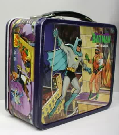 54dd124a5c48 1960 s classic TV show lunch box collection 1960 s vintage metal ...